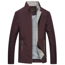 Men's Autumn Jaqueta Masculina Causal Slim Fitted Jackets