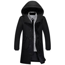 SFMW Hooded Parkas Winter Jacket in black; blue and Khaki