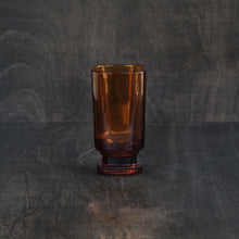 Showa Coffee Glass (Amber L)