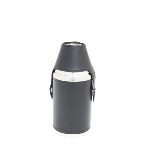 6oz Hunter Flask Black