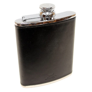 6oz Hip Flask Black