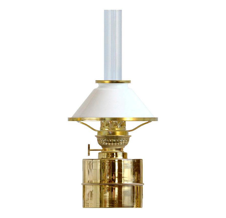 FLAGGSKÌR BRASS with 60 MM FLANGE SHADE