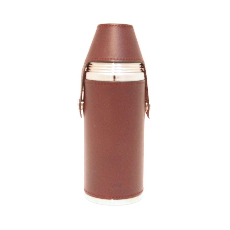 8oz Hunter Flask Burgundy