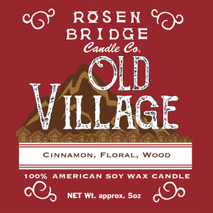 ROSEN BRIDGE Candle Old Village
