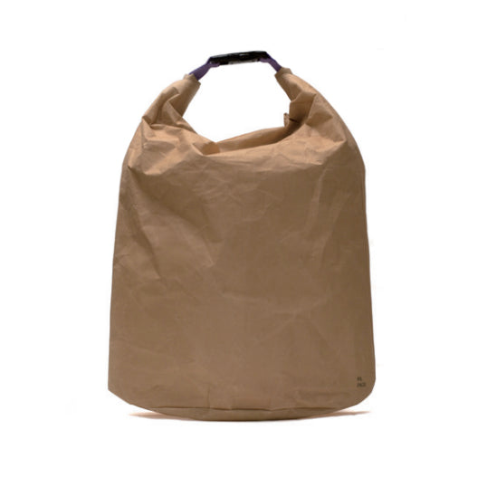 Kiruna Papack Paper Top Bag - Beige