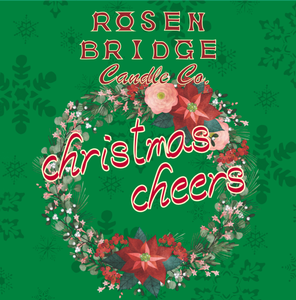 ROSEN BRIDGE Candle Christmas Cheers