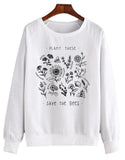 Plant These Save The Bees Sweatshirt