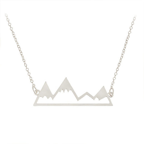 Teton Mountain Necklace