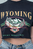 Wyoming Rocky Mountains Tee