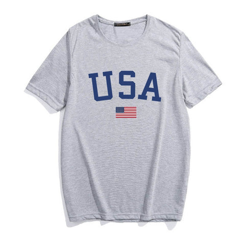 USA Flag Graphic Tee