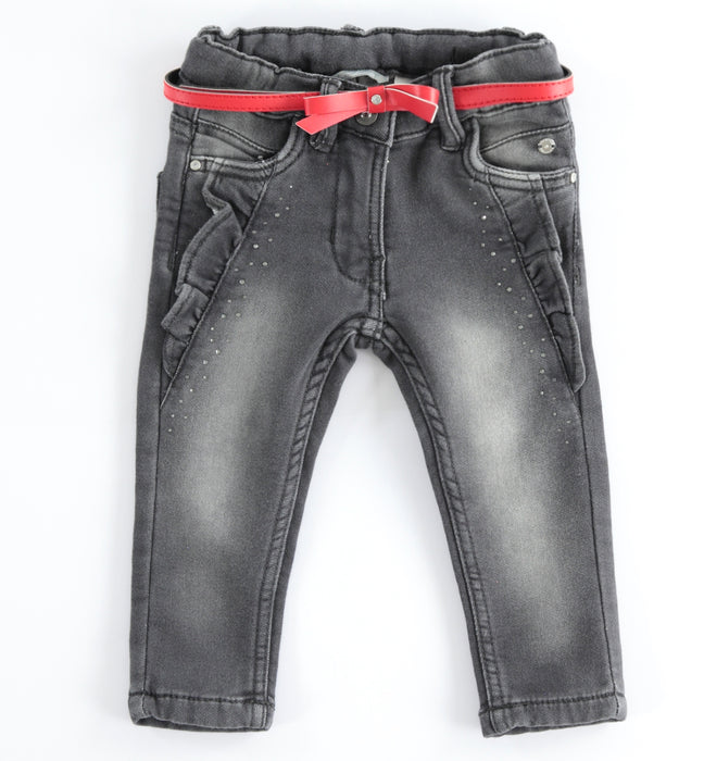 Jeans met ruches