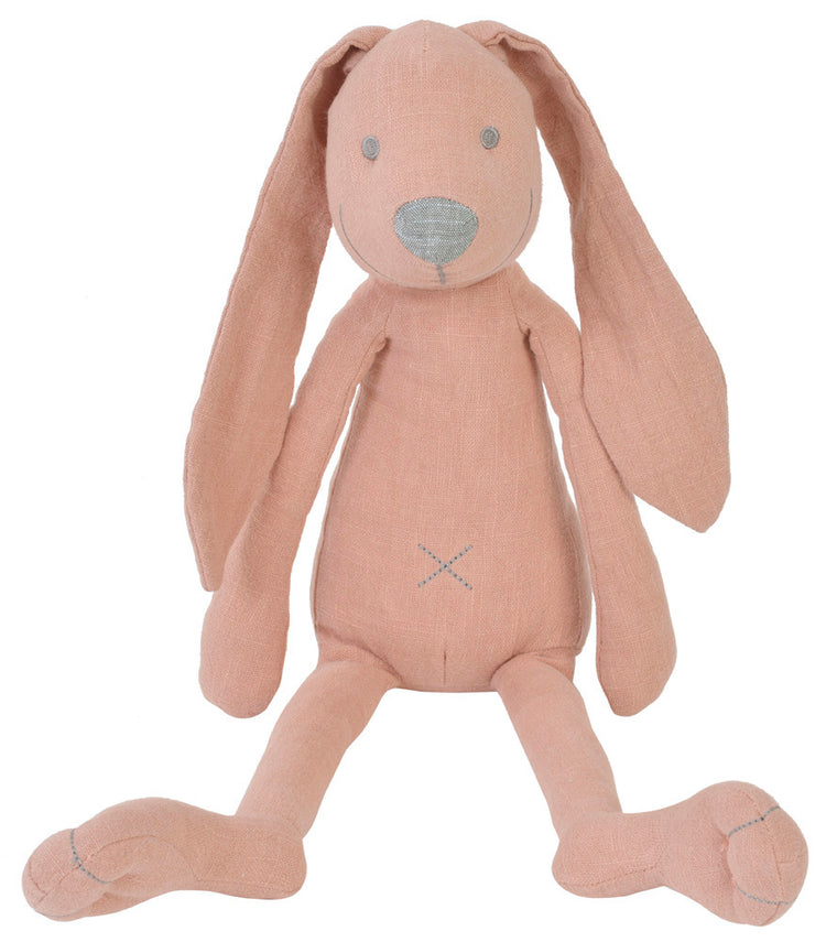 Pink Linen Rabbit Richie