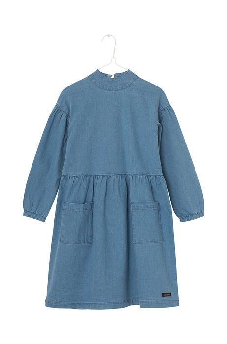 Inaya Dress Citadel blue