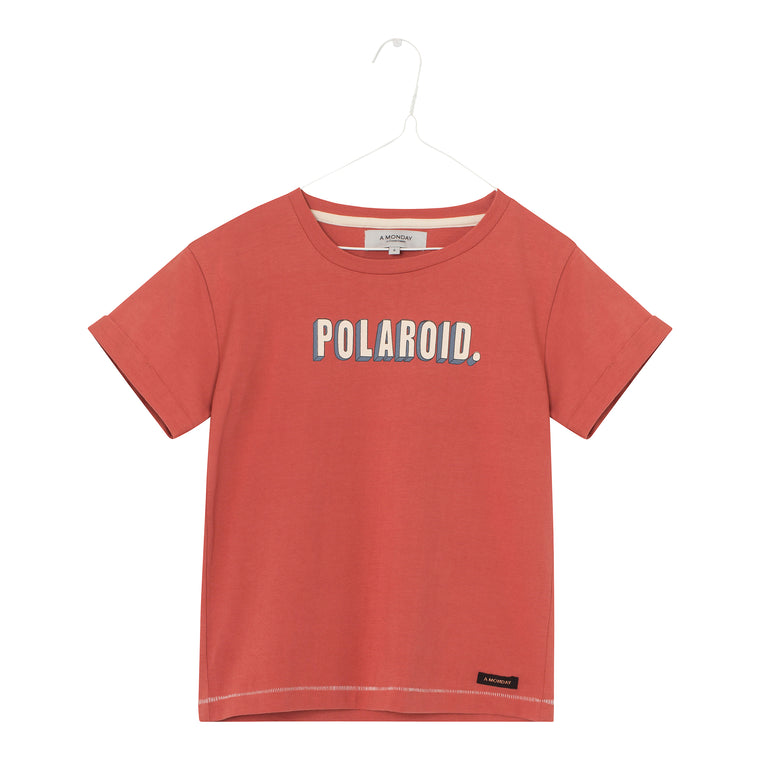 Polaroid t-shirt Summer fig