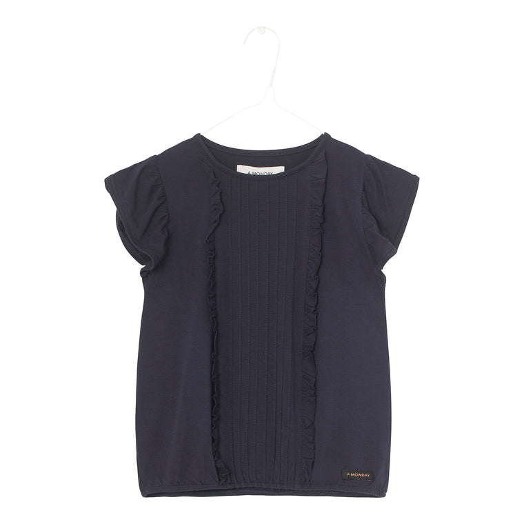 Sif Blouse Dark navy