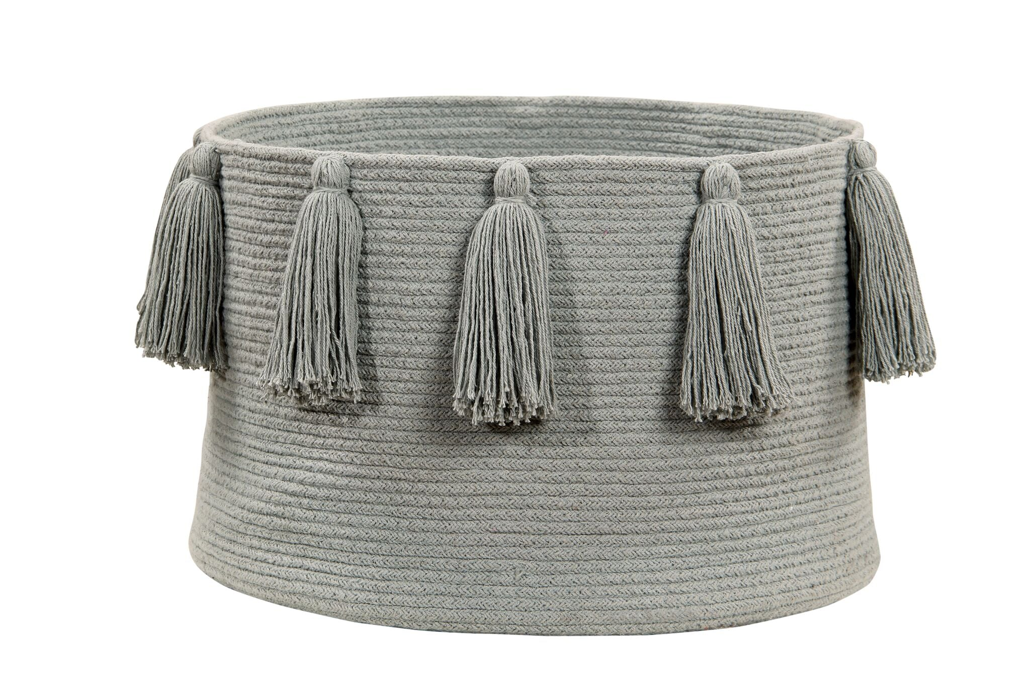 Cotton basket Light grey