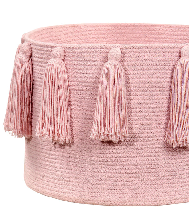 Cotton basket Pink