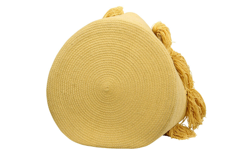 Cotton basket Yellow
