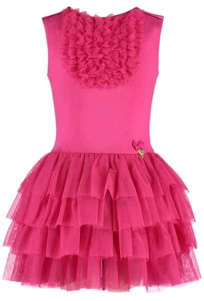 Caroline Dress Fuchsia