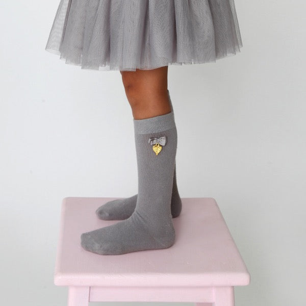 Charming Socks Ash grey
