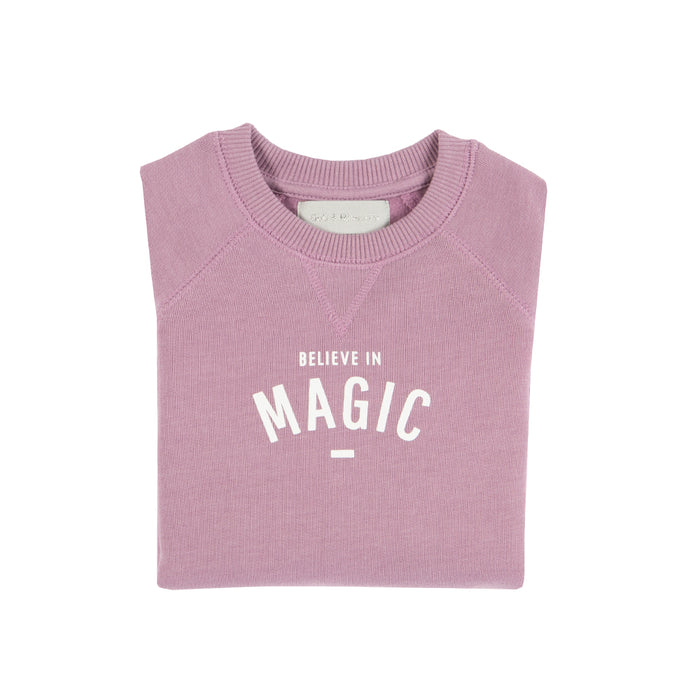 Violet 'Believe in magic' T-shirt