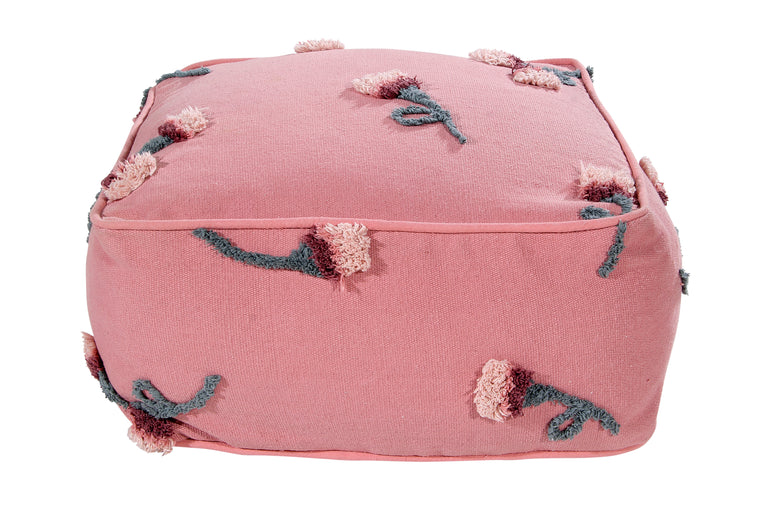 Pouffe English Garden Ash Rose