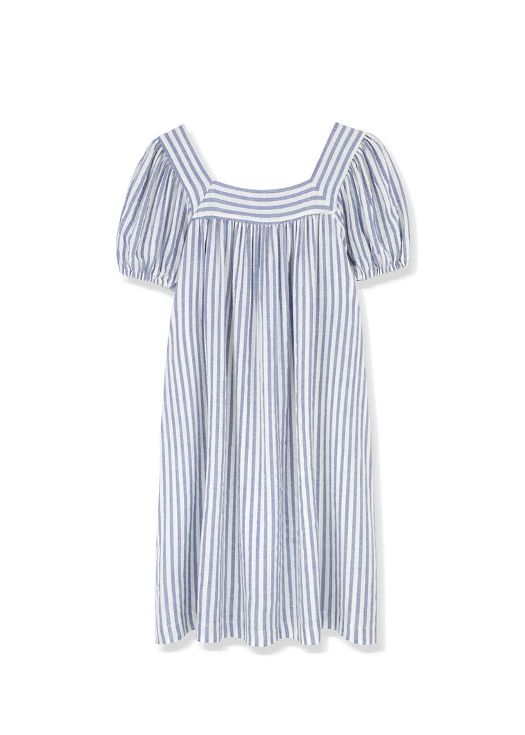 Saint-tropez square neck dress