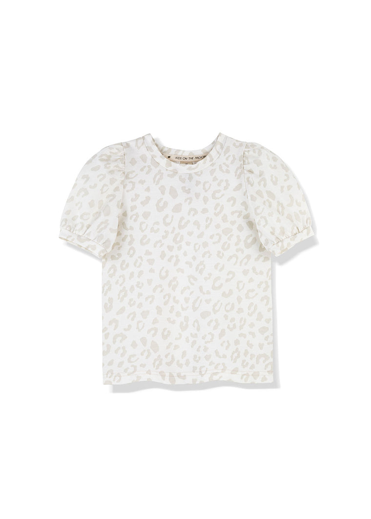 Leopard Mist Puff Top