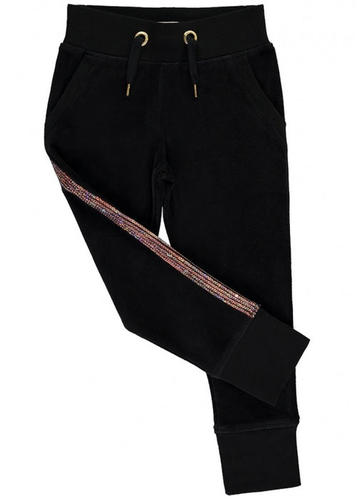 Sequin Trim Jogger