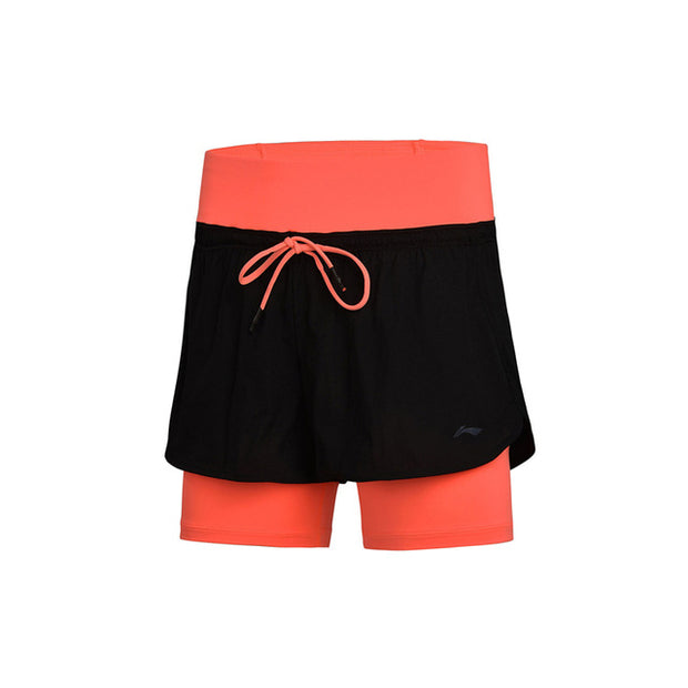LEGGINGS SHORT LI-NING FEMMES PRO FITNESS SERIES