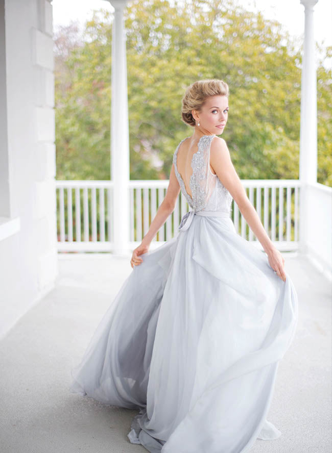 Illusion A-line/Princess Illusion Bodice Sleeveless Wedding Dresses
