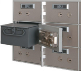 "SafeandVaultStore AB-35 Safe Deposit Boxes (10 - 3"" x 5"" Openings)"