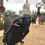 AquaVault FlexSafe - The Ultimate Portable Travel Safe - Stroller