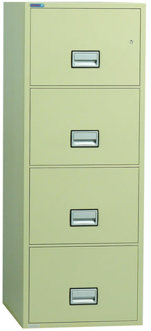 "SafeandVaultStore 4CFC-5000 31"" 4 Drawer Legal Size Fire File Cabinet"