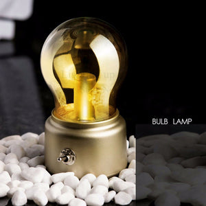 Vintage Bulb Night Light
