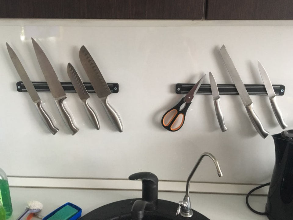 High Quality 13 inch Magnetic Knife Holder (Wall Mount)