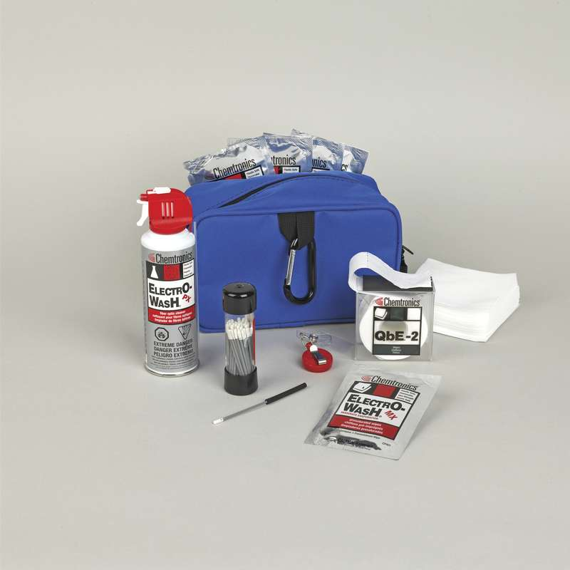 Fiber Optic Installation and Maintenance FOCCUS Cleaning Kit with Carrying Case