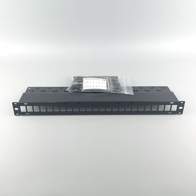 24 Port Patch Panel Unloaded (for MK Series)