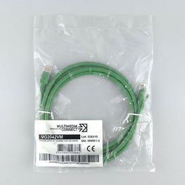 Cat6 Unshielded (UTP) Ethernet Network Cable PVC 2m Green Patch Cord