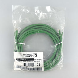Cat6 Unshielded (UTP) Ethernet Network Cable PVC 5m Green Patch Cord