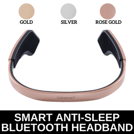 Wakeman Smart Anti-sleep Bluetooth Headband