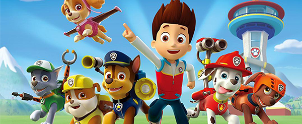 Paw Patrol Collection Header