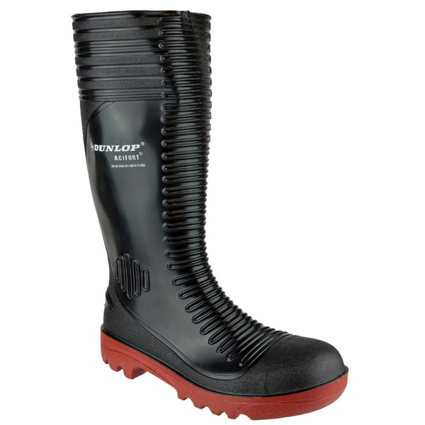 Dunlop Acifort Ribbed Full Safety Wellington