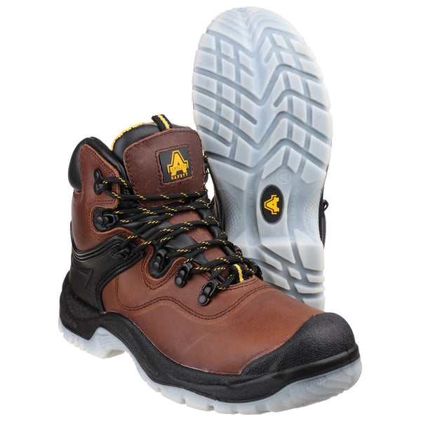 Amblers Safety FS197 Shock Absorbing Waterproof Lace up Safety Boot
