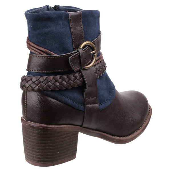 Divaz Vado Zip Up Ankle Boot