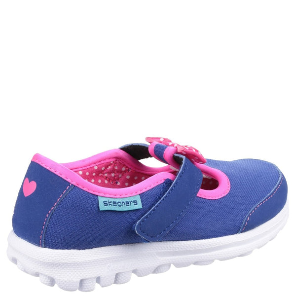 Skechers Go Walk - Bitty Bow