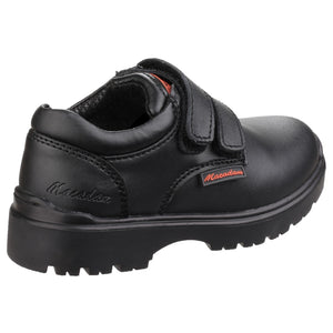US Brass Alfie Twin Velcro Infant Boys Shoes with Padded Collar