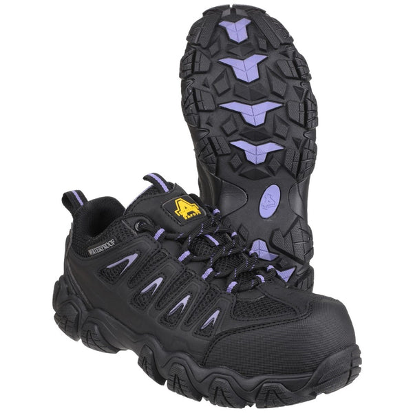 Amblers Safety AS708 Waterproof Non-Metal Ladies Safety Trainer