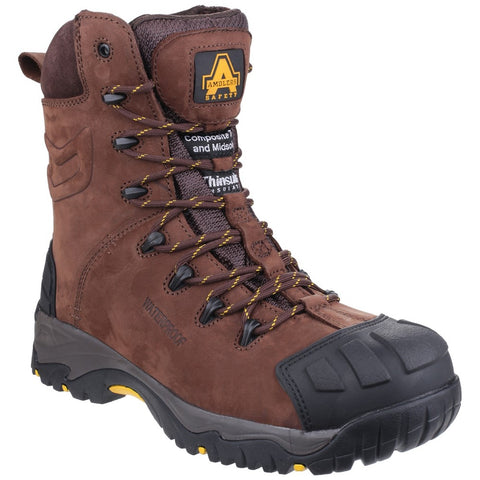 Amblers Safety AS995 Pillar Waterproof Hi-leg Lace up Safety Boot