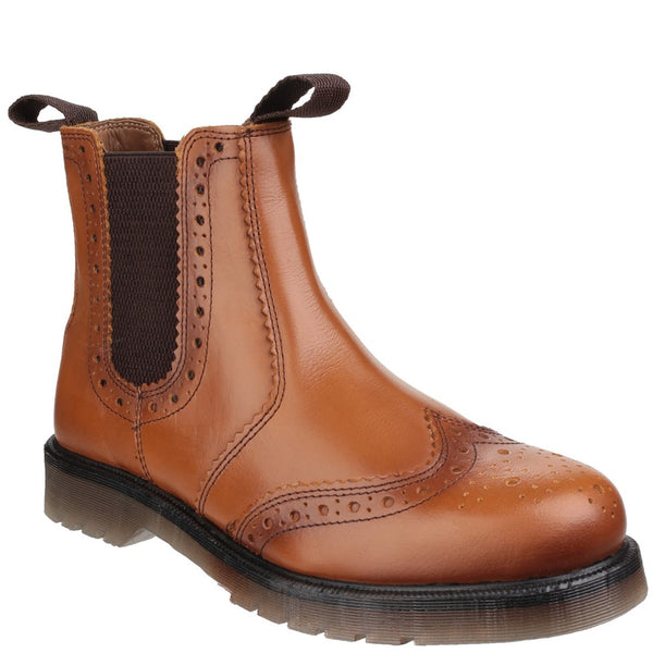 Amblers Safety Dalby Pull On Brogue Boot